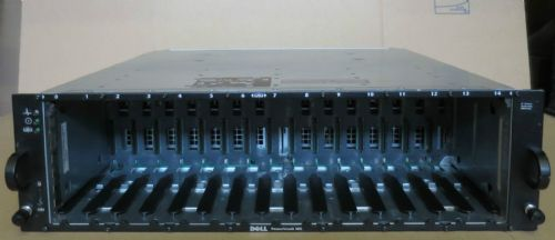 Dell PowerVault MD1000 SAS SATA 15Bay Drive Storage Array Dual Controllers Rails